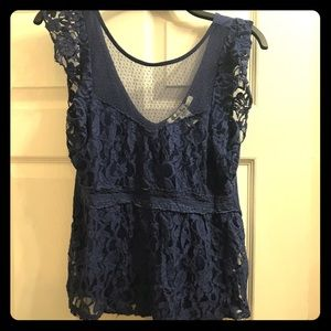 Large American Rag lace top